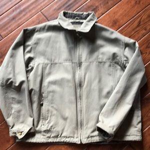 Columbia light cloth jacket.Super cool and unique!